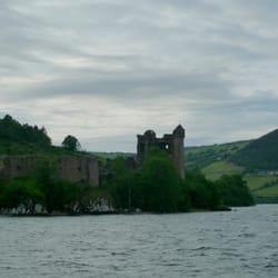 Das Ungeheuer von Loch Ness, Inverness, Highland, UK