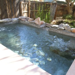 El dorado hot springs tonopah az united states the for Az pond and pool