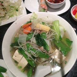 vegetable tofu pho