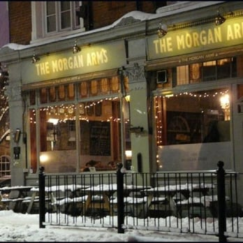 The Morgan Arms - winter 2008/2009 - London, United Kingdom