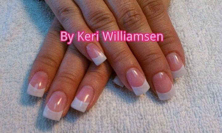 Sassy Nails - Reno, NV, United States. Young Nails Pink & White gel
