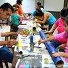 Photo de PEINTURE FRAICHE 69 / Atelier d'expression créative Parent-Enfant