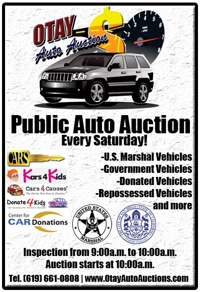 Huge Public Donated Auto Auction San Diego Events Yelp
