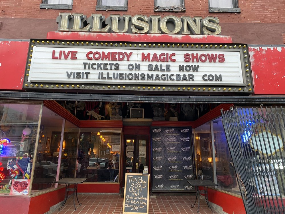 Social Spots from Illusions Magic Bar & Lounge