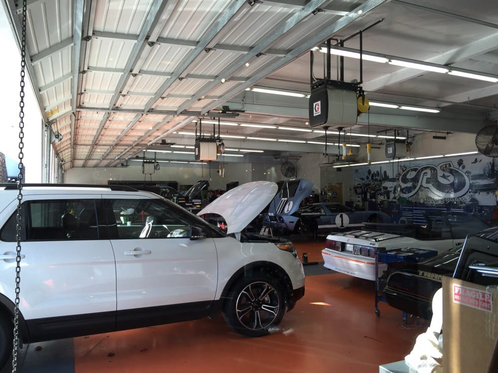 Galpin Auto Sports Clean Organized And Excellent