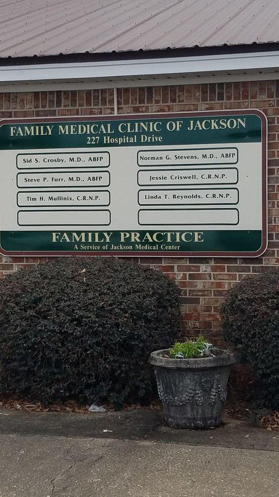 Family Medical of Jackson PC: 227 Hospital Dr, Jackson, AL