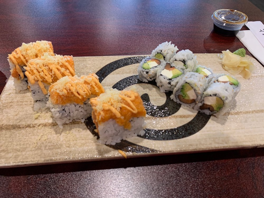 Yamato Sushi & Hibachi Express: 927 N Green St, Brownsburg, IN