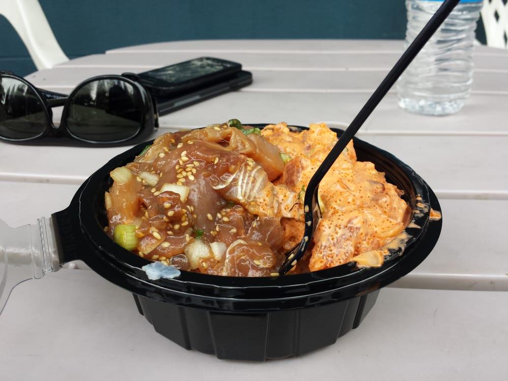 Poke bowl yelp for Suisan fish market