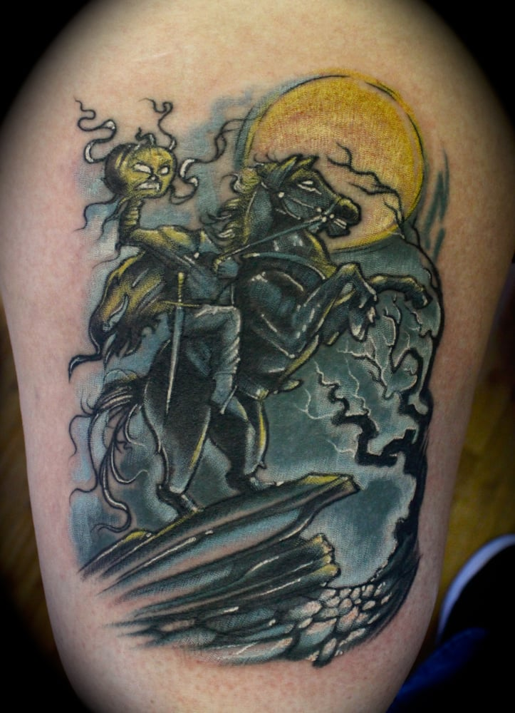 Headless Horseman Tattoo By Roger Ladouceur Star City