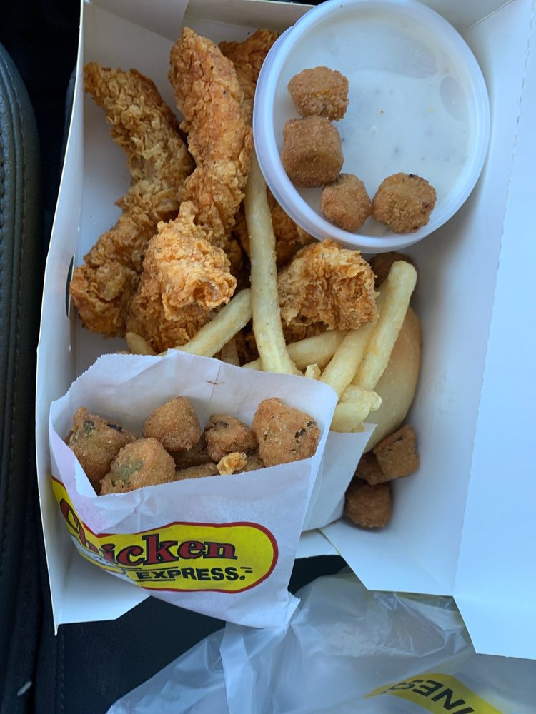 Food from Chicken Express