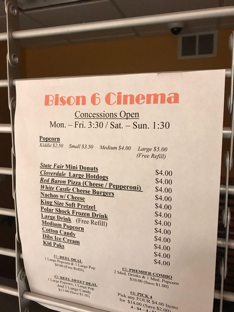 Bison Twin Theaters: Buffalo Mall, Jamestown, ND