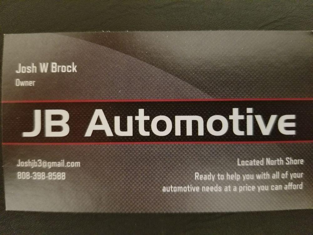JB Automotive: Hauula, HI