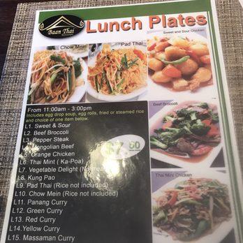 Baan Thai Restaurant Order Food Online 289 Photos 136 Reviews