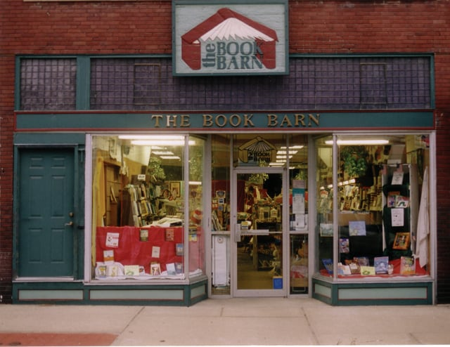 The Book Barn: 410 Delaware St, Leavenworth, KS