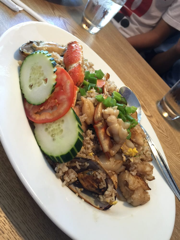 Seafood fried rice yelp for Aroma thai cuisine