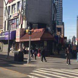 Soul Food Restaurant On Fulton Street In Brooklyn
