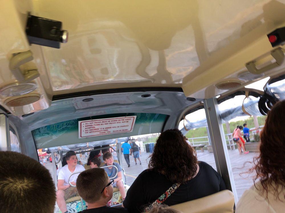 Boardwalk Tram Service - Atlantic City