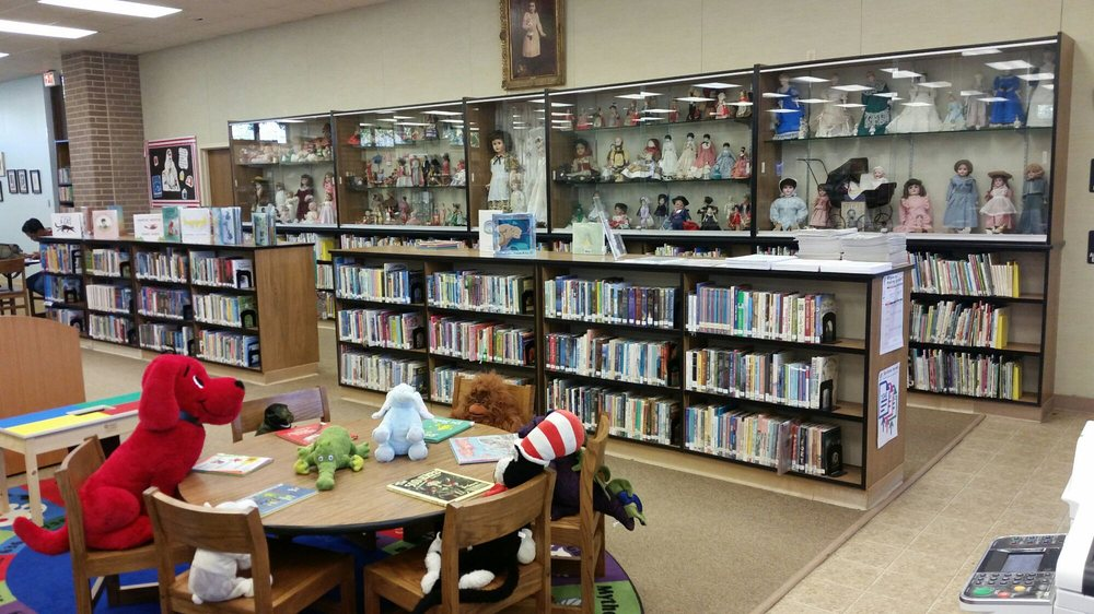 Nesbitt Memorial Library: 529 Washington St, Columbus, TX