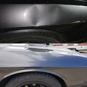 Before And Photo Of Absolute Paintless Dent Repair Reno Nv United States