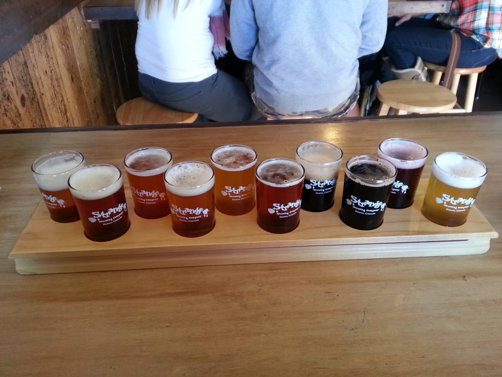 10 tastes for 15 yelp for Strange craft beer company