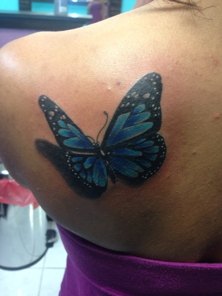 Bad Girl Butterfly | TattooForAWeek.com - Temporary ...