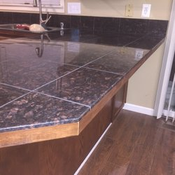 Photo Of Unique Flooring   Vancouver, WA, United States. Granite Countertops  With Custom ...