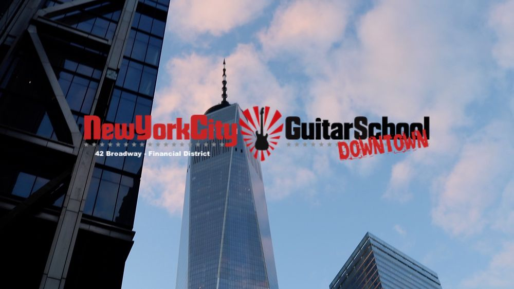 New York City Guitar School Downtown Fidi Closed Musical