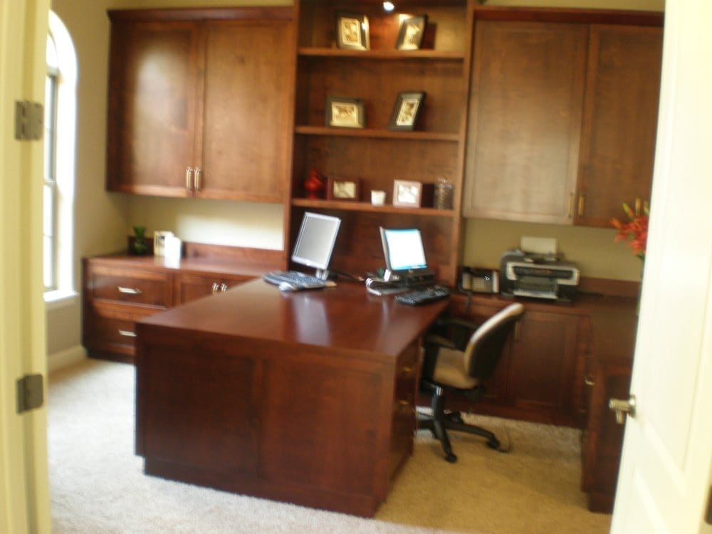 His And Hers Custom Office Cabinetry That Caters To Your Space And All Of It 39 S Stuff Yelp