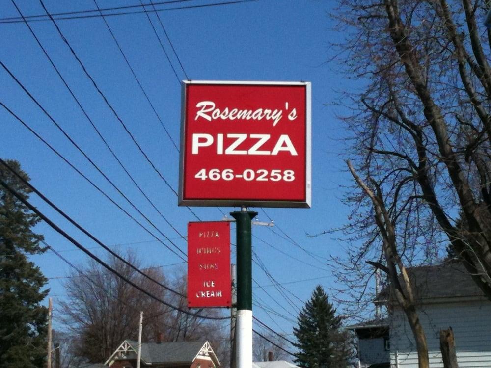 Rosemary's Pizzeria: 308 E Main St, Geneva, OH