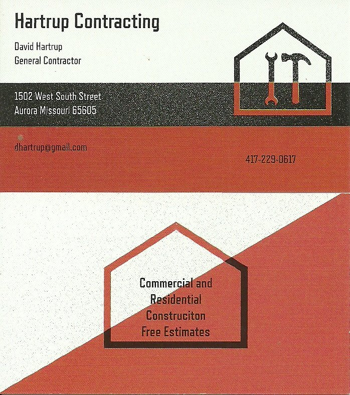 Hartrup Contracting: Aurora, MO