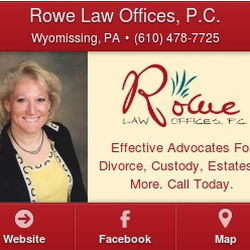 Rowe Law Offices - Divorce & Family Law - 1200 Broadcasting