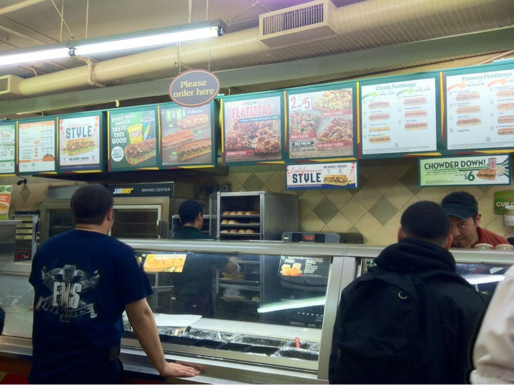 Subway Restaurants East Los Angeles Ca