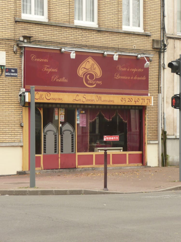 lille couscous ferm marocain 80 rue br le maison wazemmes lille france restaurant. Black Bedroom Furniture Sets. Home Design Ideas