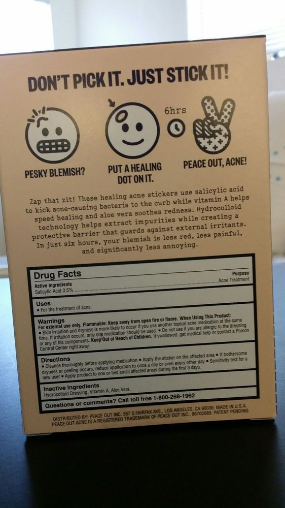 $19 Peace Out Acne Spot Patches for those stubborn acnes