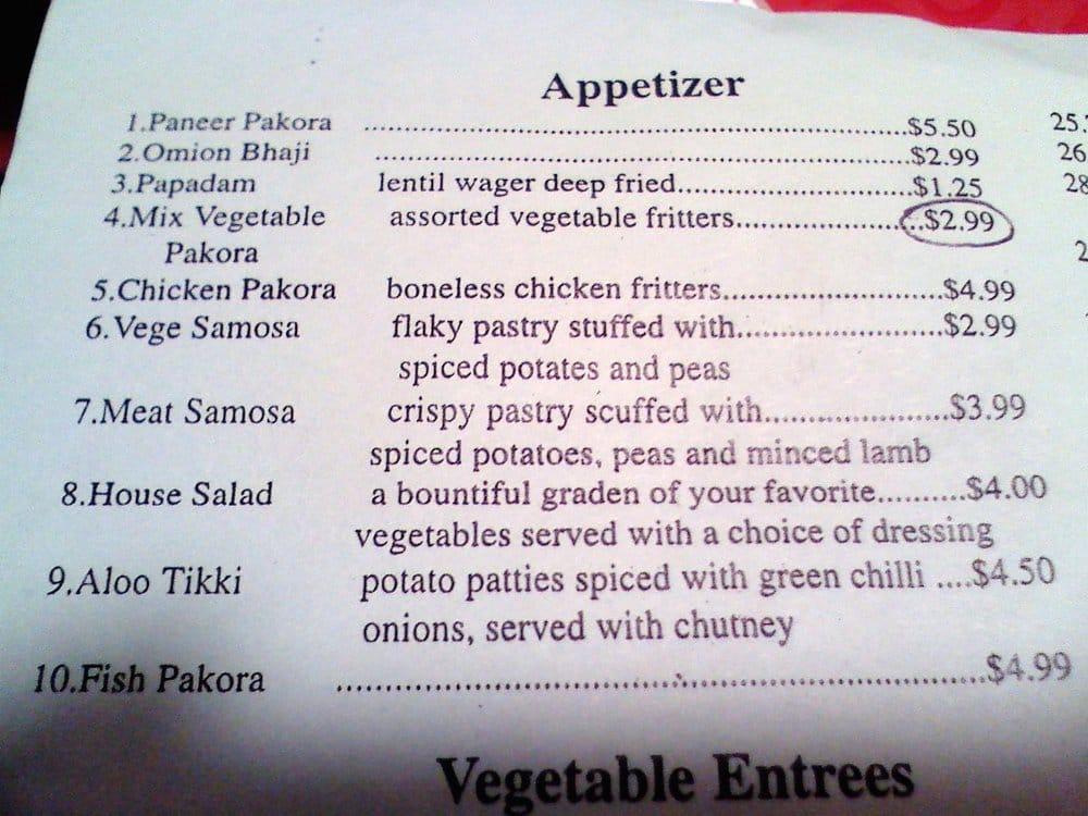 Raj Indian Food Oakland