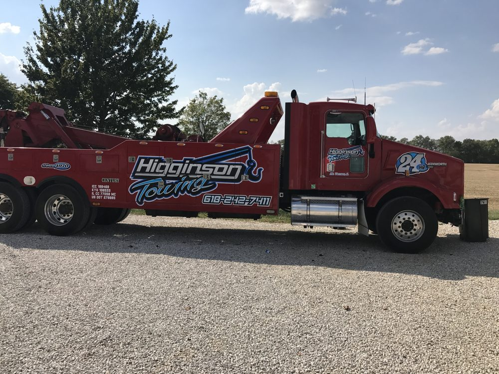 Higginson Towing & Salvage: 6895 N Il Hwy 148, Mount Vernon, IL