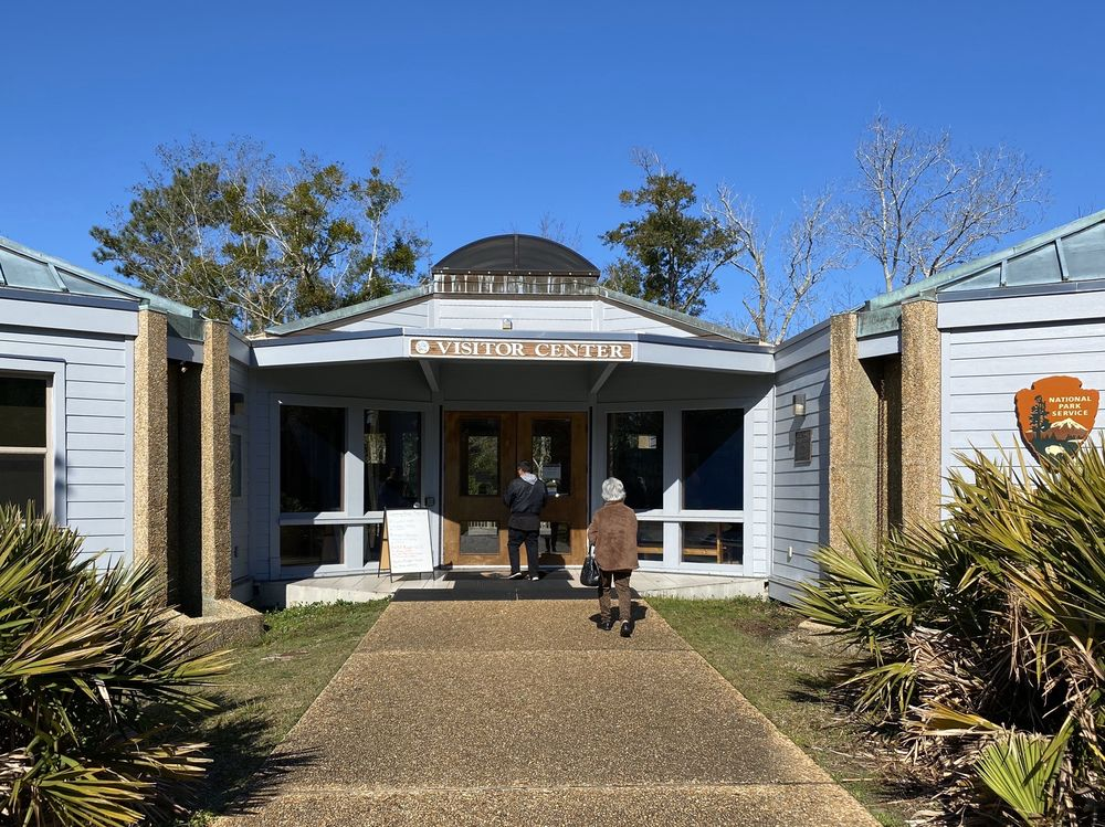 William M. Colmer Visitor Center: 3500 Park Rd, Ocean Springs, MS