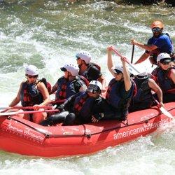 American whitewater rafting