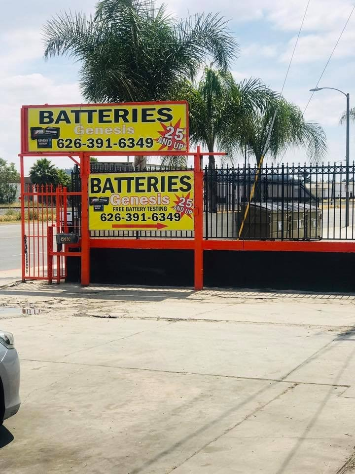 Genesis Batteries: 15030 Valley Blvd, La Puente, CA