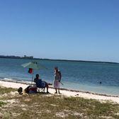 key biscayne dog beach