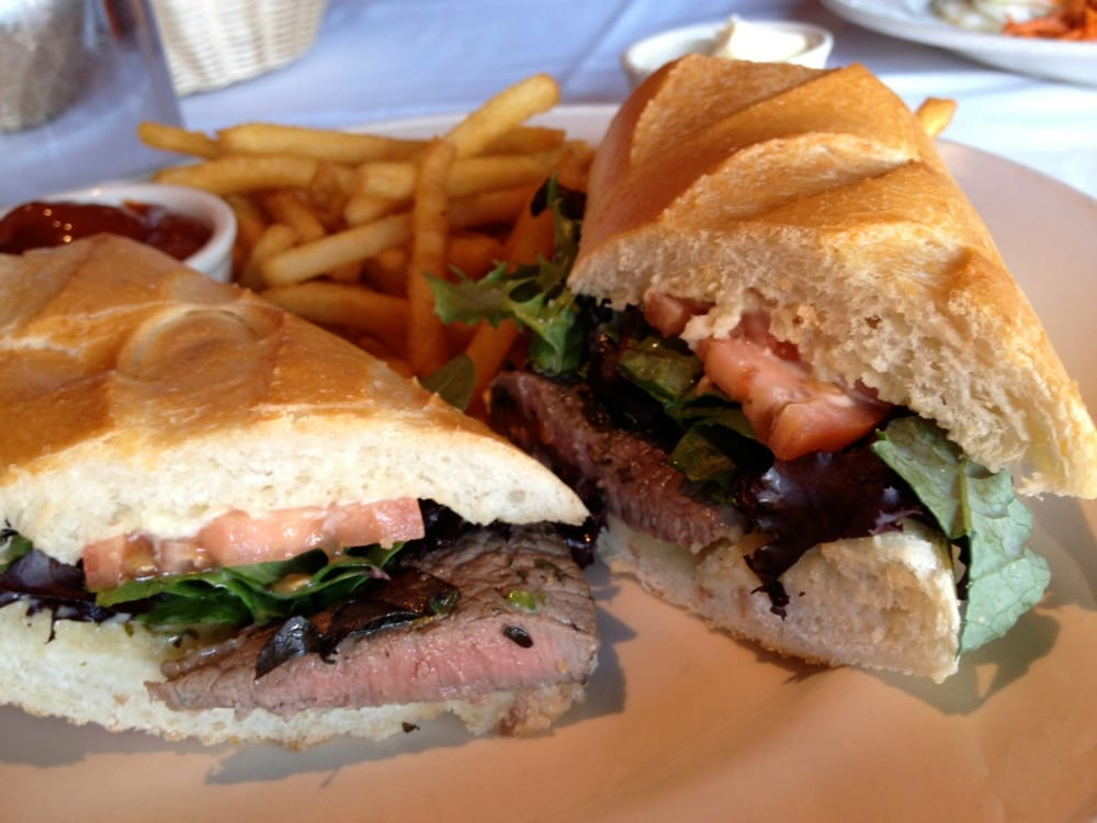 Roasted Lamb Sandwich $9: On a baguette with rosemary ...