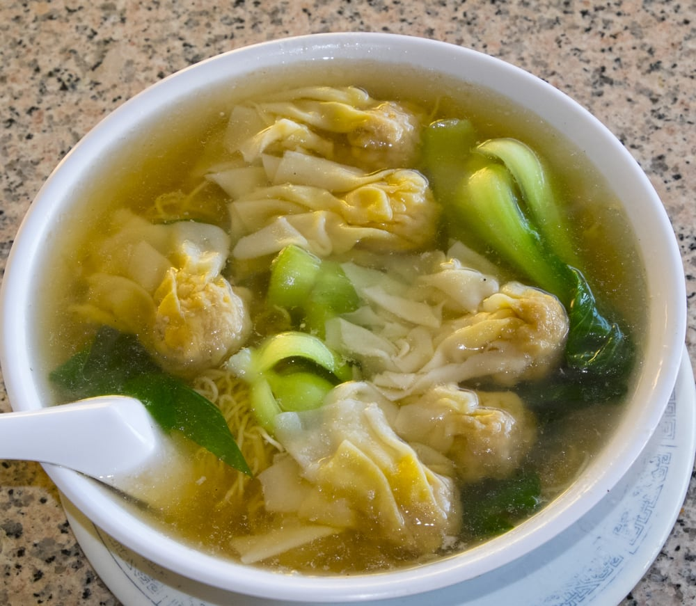 Hong Kong Style Won Ton Noodle Soup