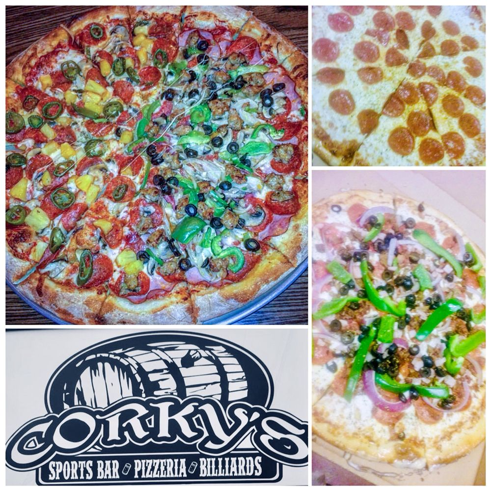 Corky's Pizza & Wings: 1350 Crestview Rd, Easley, SC
