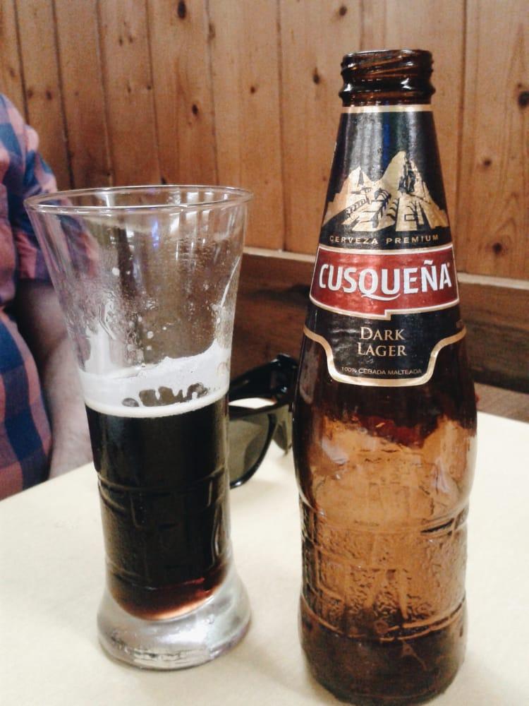 peruanas lindas una cerveza
