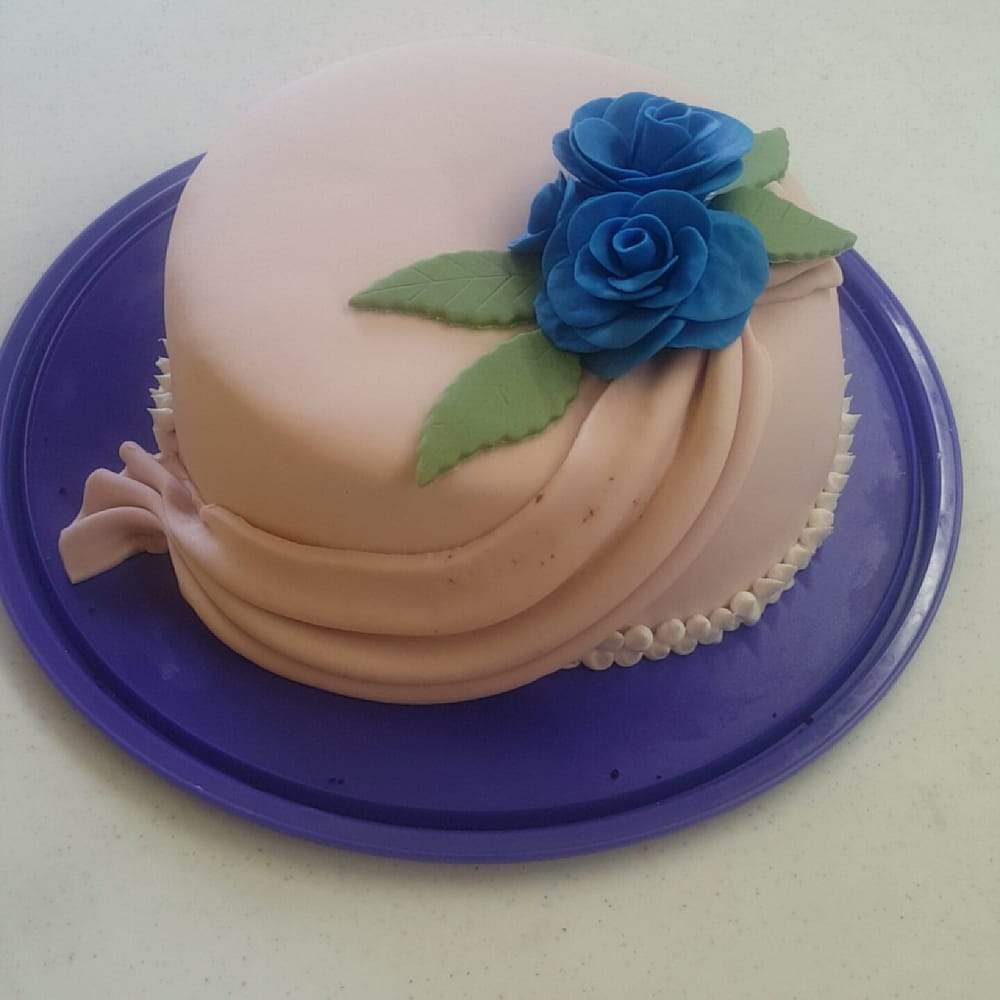 Garden Decoration For Cake : My first fondant cake! - Yelp