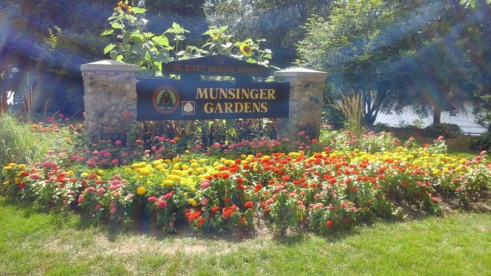 Munsinger Gardens 12 Photos Botanical Gardens 1515 Riverside Dr Se St Cloud Mn Phone
