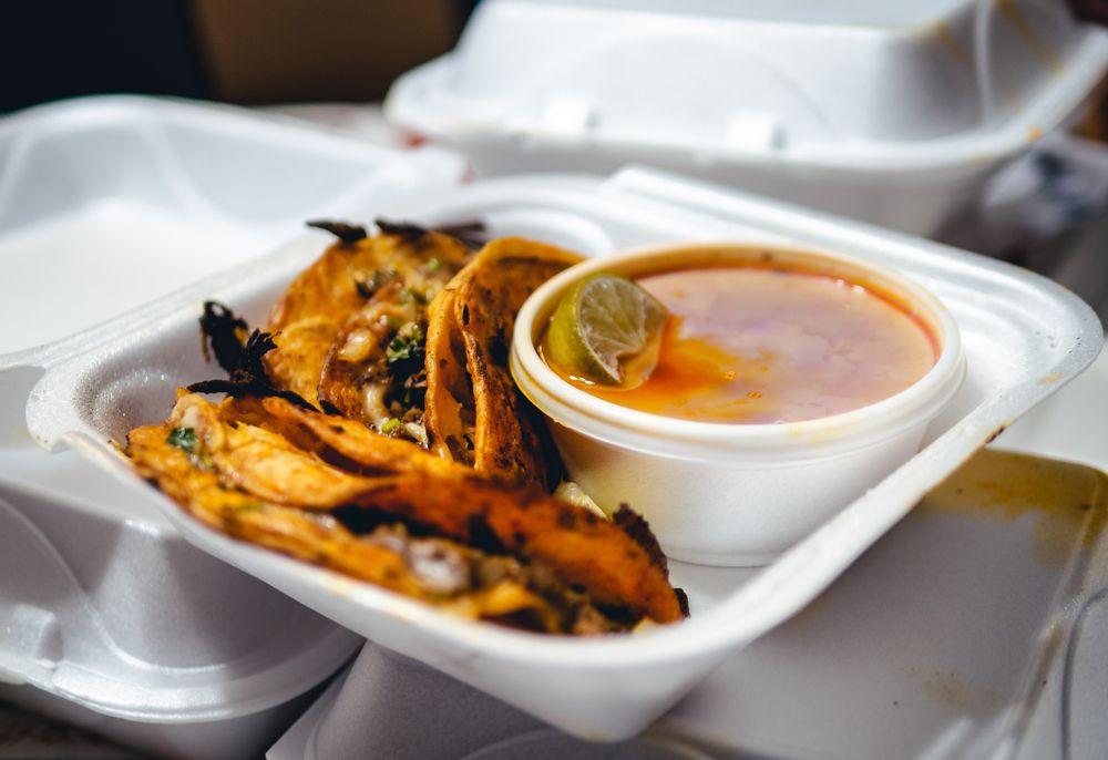 Food from El Indio Mexican Resturante & Taqueria