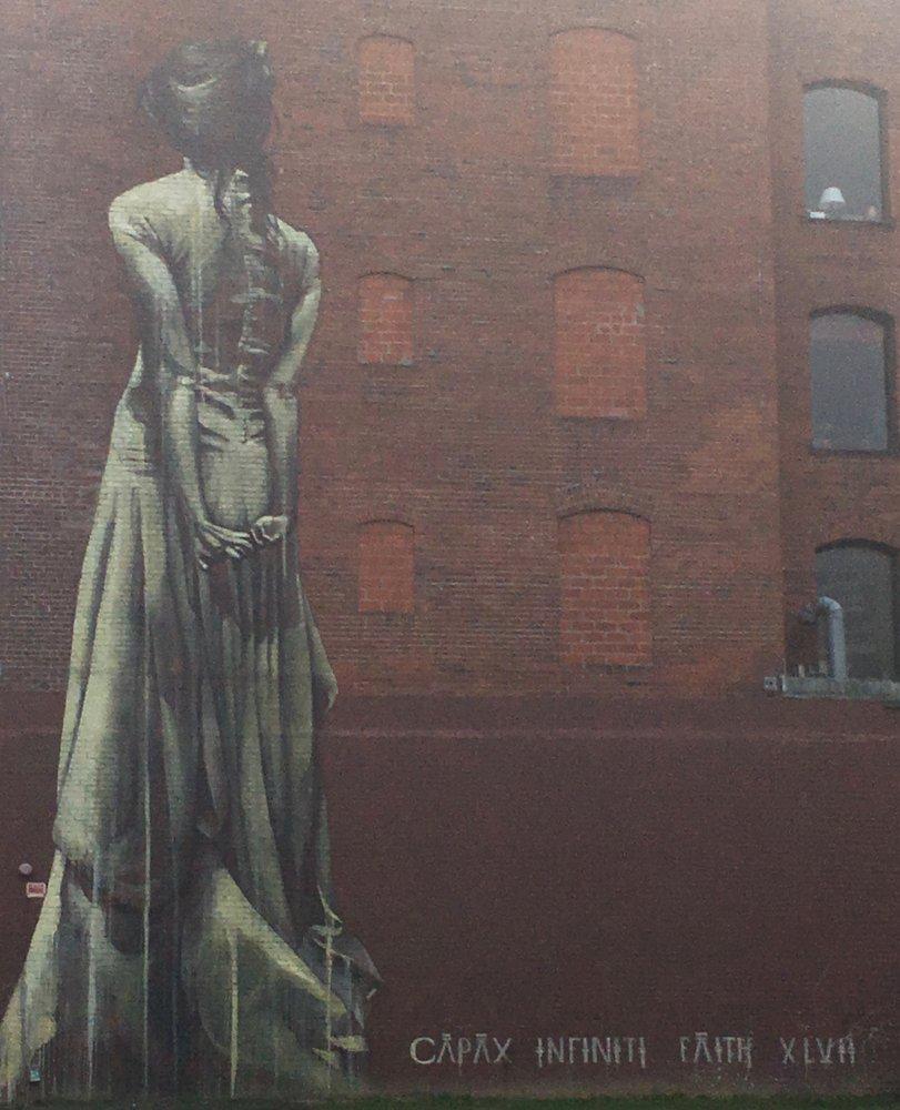 Capax Infiniti Mural Art: 1114 SW Washington St, Portland, OR