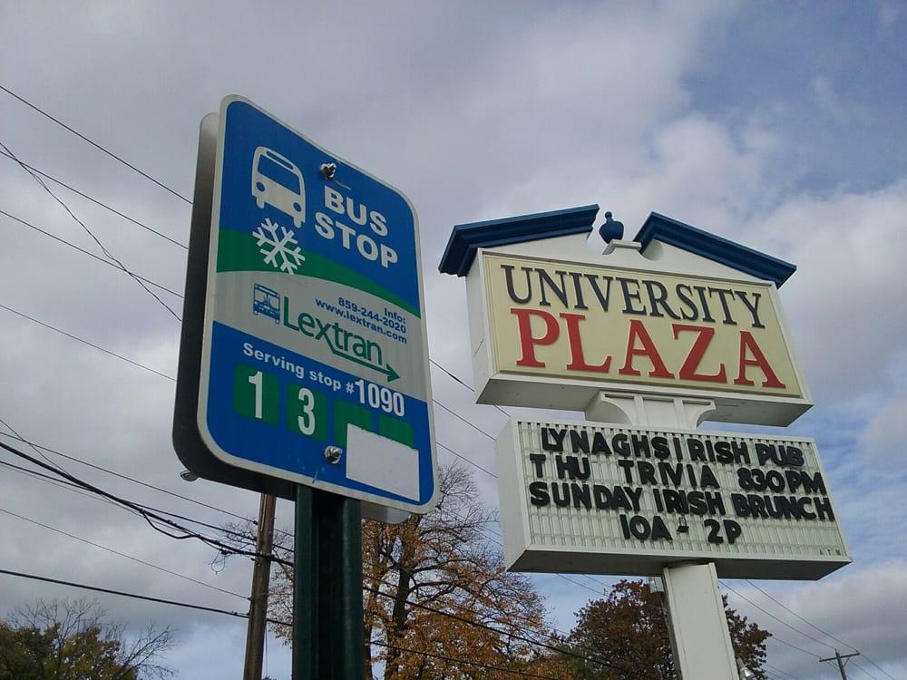 Lextran Bus Stop 1090: 400 E Euclid Ave, Lexington, KY