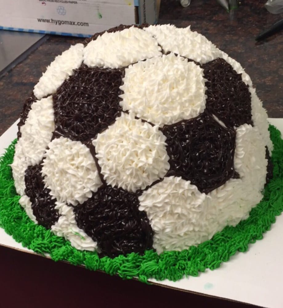 Soccer ice cream cake Yelp